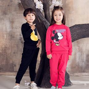 宝贝美衣# 智慧鸭 儿童套头卫衣两件套 24元包邮(39-15券)