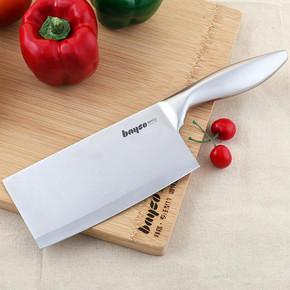 拜格 不锈钢全钢切片菜刀 9.9元包邮(19.9-10券)
