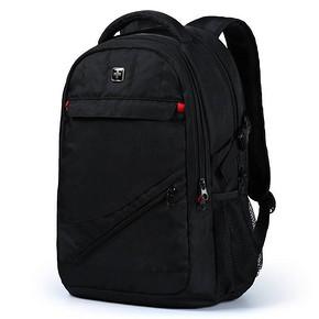 瑞士十字 商务休闲双肩电脑包 黑色 15.6寸 99元包邮