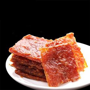 休闲零食# 甜言物语 猪肉脯 100g*2袋 14.9元包邮(19.9-5券)