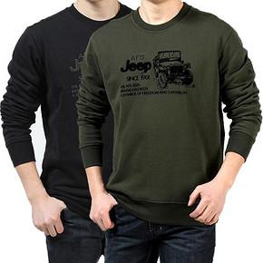 前10分钟半价# AFS JEEP 战地吉普长袖T恤卫衣 39元(78返39)