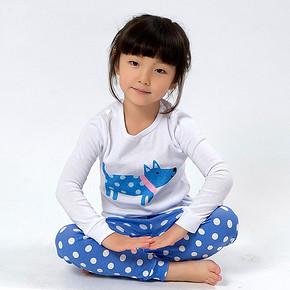 NEWegg 儿童纯棉内衣套装 多色可入 16.9元包邮(66.9-50券)