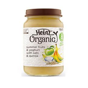 Heinz 亨氏 婴幼儿辅食 有机水果乳酪燕麦泥 170g 折11元(99选10件)