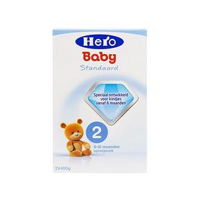 Hero baby  荷兰美素 奶粉2段 800g*2盒  160元包邮