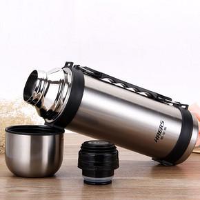 哈尔斯 大容量户外不锈钢保温杯保温壶 1.2L 39元包邮(59-20券)