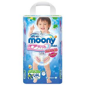 Moony 尤妮佳 男婴用拉拉裤 L44片 77.9元(69+8.9)