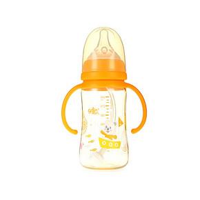 日康 宽口有柄自动奶瓶 240ml 折29.5元(59,199-100)