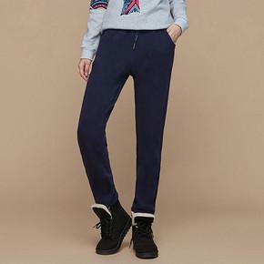 保暖显瘦# 玛莎驰努 冬季加绒加厚运动裤  29元包邮(49-20券)