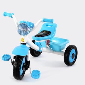 蒂小猪 多功能婴儿三轮脚踏车 99元包邮(199-100券)