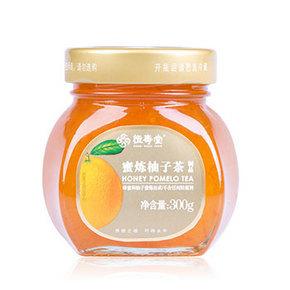 手慢涨价# 恒寿堂 蜂蜜柚子茶 300g 6.9元