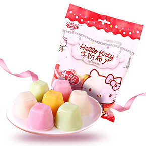 萌萌哒# Hello kitty 果冻布丁 350g*3袋  19.9元包邮(29.9-10券)