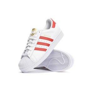 经典复古# adidas 阿迪达斯 superstar 红白  508.3元包邮(499+59-50券)