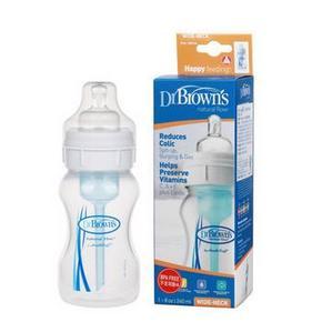 Dr Brown's 布朗博士 宽口防胀气婴儿PP奶瓶 240ml 22元(19+3)
