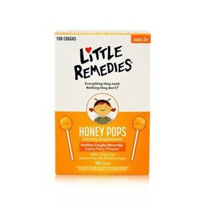 LITTLE REMEDIES 天然蜂蜜棒棒糖 10支装*4盒 98.4元(88选4+10.4)