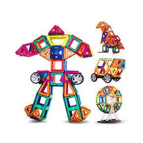李维嘉代言# 贵派仕 儿童玩具磁力片90件套 25.9元包邮(35.9-10券)