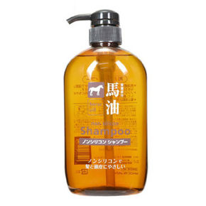 Horse oil 熊野油脂 无硅油马油洗发水 600ml 39.7元(34.9+4.8)