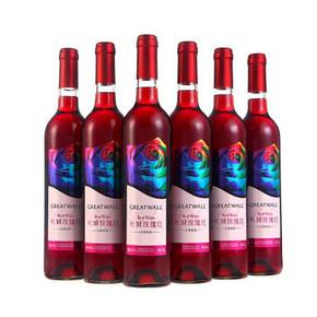 GreatWall 长城 玫瑰红甜型葡萄酒 750ml*6瓶 折119元(238,买2免1)