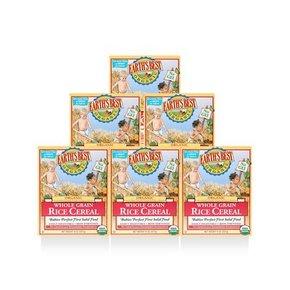 美国Earth's Best 世界最好高铁米粉  227g*6盒 152元(135+17-10)
