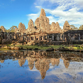探寻古迹# 柬埔寨 吴哥窟 3晚5日自由行(含往返飞机+酒店住宿)  1499元起