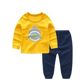 多款可选# 北极绒 儿童纯棉长袖内衣套装 折18.3元(30.8*2-15-10券)