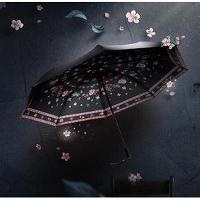 Banana Umbrella 蕉下 双层小黑伞系列三折伞 99元包邮