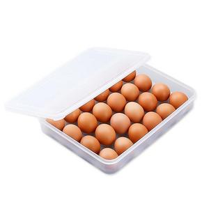 日本 SANADA 鸡蛋保鲜收纳盒 24格 13.9元包邮(16.9-3券)