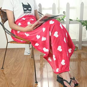 双重优惠# 莎克丝 办公室空调珊瑚绒小盖毯 5.1元包邮(99-13.9-80券)