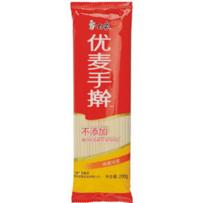 白象 优麦手擀 鸡蛋挂面 200g  1元(限购10件)