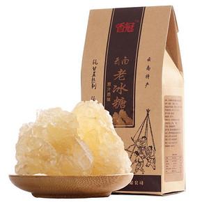 香冠 云南特产老冰糖 400g*2袋 9.8元包邮(29.8-20券)