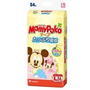 妈咪宝贝 瞬吸干爽婴儿纸尿裤 L54*3包 222元包邮(237-15券)