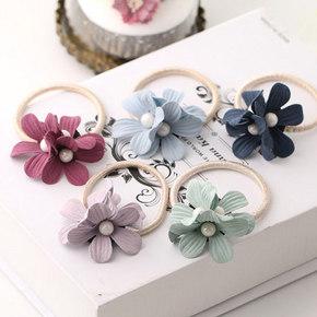 发间生花#  美丽公主 韩版甜美发绳三件套 9.9元包邮
