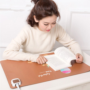 学习办公手不冷# 长虹 办公室加热保暖桌垫毯 19元包邮(39-20券)
