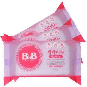 B&B 保宁 婴幼儿洗衣皂 薰衣草 200g*3块 折21.3元(149-50)