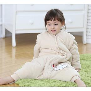 俞兆林 婴儿加厚彩棉分腿睡袋 49元包邮(79-30券)