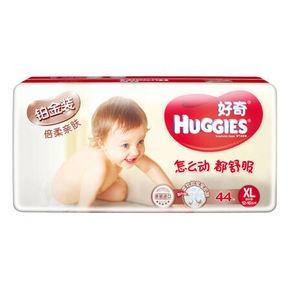 韩国 好奇 铂金装倍柔亲肤婴儿纸尿裤 XL44片 折84.9元(89,2件9折)