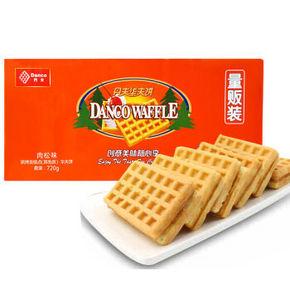 丹夫 经典华夫饼 肉松味 720g 38.9元