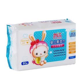 飘漾 婴儿卫生柔湿巾 抑菌装 80片 8.8元