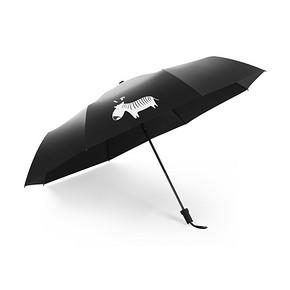 馨家坊 原创折叠防晒小黑伞 19.8元包邮(29.8-10券)