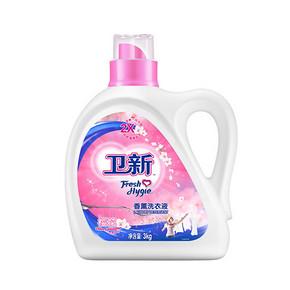 卫新 香薰精油 樱花洗衣液 3Kg 折28.8元(45.8,168-68)