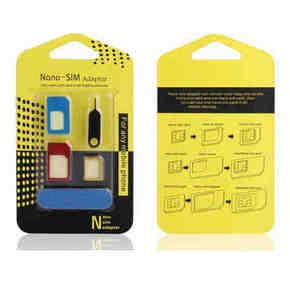 白菜小物# 七河 SIM卡套5件套 玩转手机必备 1.2元包邮