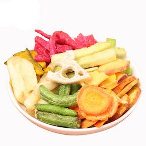 入口嘎嘣脆# 倍骄 综合蔬菜脆片100g 10.9元包邮(15.9-5券)