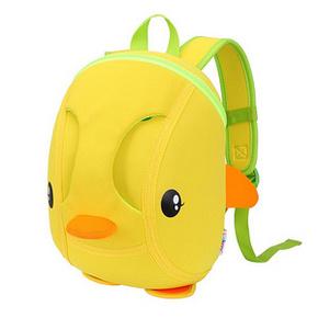 萌出行# 卡卡希 儿童立体小黄鸭双肩包 49元包邮(99-50券)