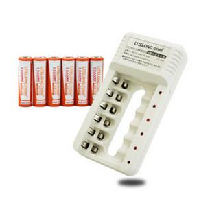 随意充# 力特朗 可充电电池套装 6节 17元包邮(27-10券)