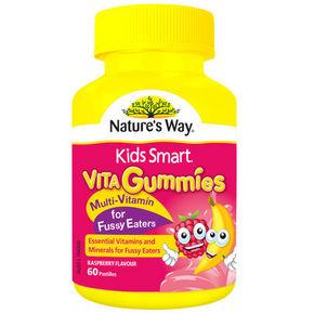 nature's way 佳思敏 复合维生素软糖 厌食专用 60粒 34元(29+4)