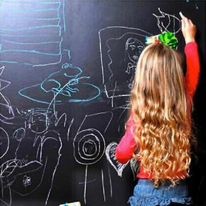 墙上涂鸦# Decoin 防水加厚黑板墙贴 45*100cm 送粉笔 6.8元包邮(11.8-5券)