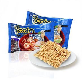 7coin 泰国进口 七咔呢 海鲜味方便面  70g*5连包 4.9元(9.9-5券)