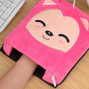 手心的温暖# 伊暖儿 USB加绒加厚保暖鼠标垫 12.9元包邮(22.9-10券)