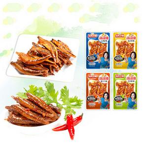 渔米之湘 香辣小鱼仔 500g 4种口味  20.8元包邮(25.8-5券)