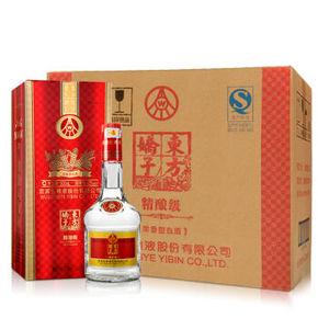 折33元/瓶# 五粮液 东方娇子 精酿白酒 52° 500ml*6瓶 198元包邮