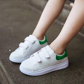 前3分钟半价# 吧吖吧吖 潮童运动小白鞋 19.5元包邮(39-19.5)